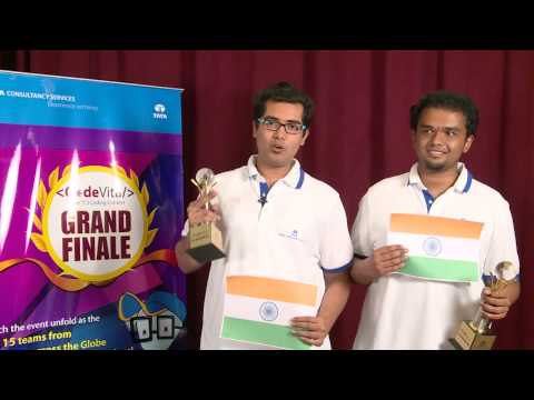 TCS CodeVita Season 3 - Grand Finale Highlights