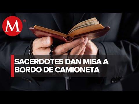 Sacerdotes en Tijuana se las ingenian para oficiar misas