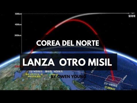 Corea del Norte lanza un misil balístico y genera reacción internacional