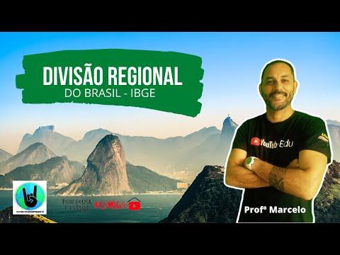Divisão Regional do Brasil - GEOGRAFIAIRADA
