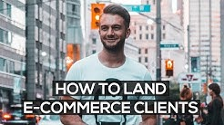 HOW TO GET E-COMMERCE CLIENTS FOR YOUR SOCIAL MEDIA MARKETING AGENCY