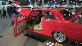 1966 Chevy Nova At The Speed And Custom Car Show London Ontario 2017