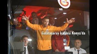 Galatasaray kafilesi Konya'da