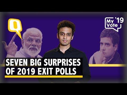 'Aayega Toh Modi Hi': 7 Big Surprises of 2019 Lok Sabha Exit Polls | The Quint