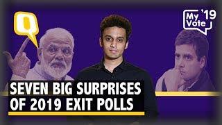 'Aayega Toh Modi Hi': 7 Big Surprises of 2019 Lok Sabha Exit Polls   The Quint