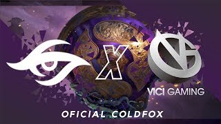 [PT-BR] Team Secret vs Vici Gaming - The International 9 - Eliminatório R4