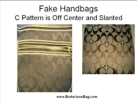 Great Tips: How to Spot a Fake Coach Purse