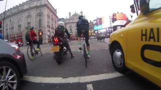 London Road Rage - Angry Cabbie vs Cyclist - LT64 EBM [EXPLICIT]