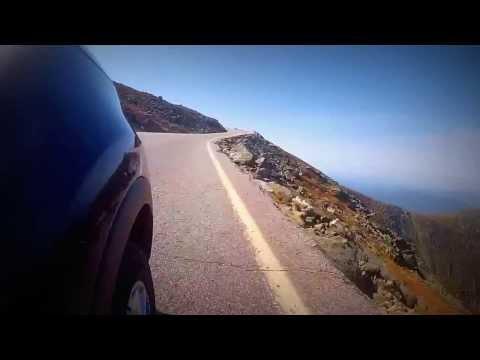 Driving up Mt. Washington NH