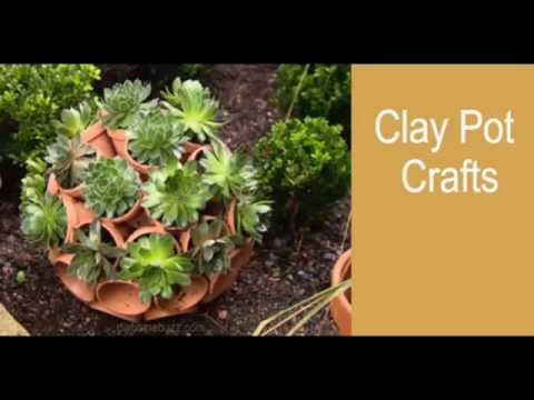 Clay pot crafts easy clay pots dome youtube