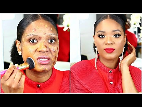 EXTREME TRANSFORMATION : YOU ONLY NEED THESE BRUSHES FOR A FLAWLESS FULL FACE OF MAKEUP | OMABELLETV