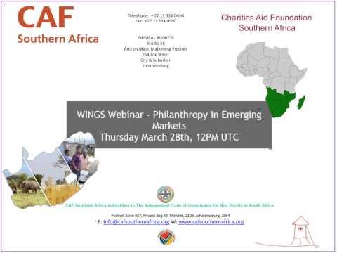 Philanthropy in Emerging Markets
