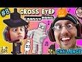 CROSS EYED Crossy Road CHALLENGE!  Halloween Characters Fun! (Part 8 FGTEEV GAMEPLAY)