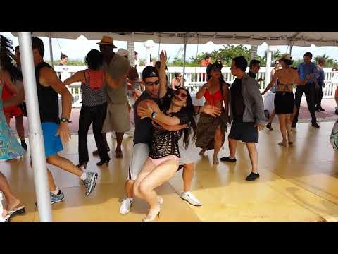 Glen Angelica Hustle April 2015 IHSC International Hustle And Salsa Competition