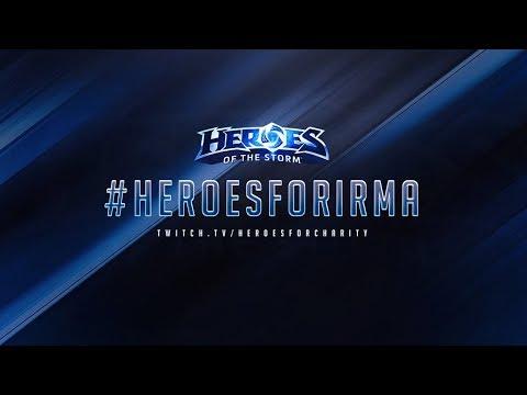 Hurricane Irma Charity Stream w/ Rentaro – #HeroesForIrma – Heroes of the Storm