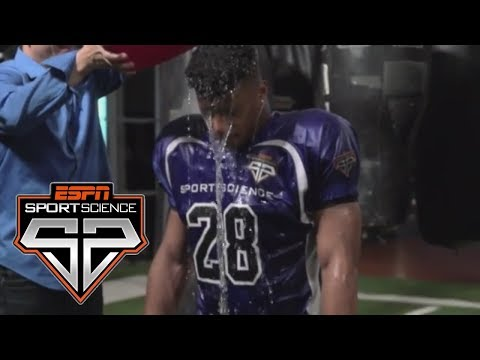 Saquon Barkley Undergoes The Weather Test | Sport Science | ESPN