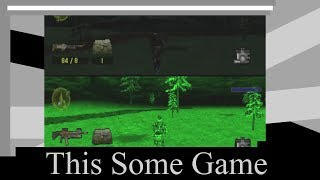 This Some Game ** Spec Ops: Stealth Patrol (PS1) ** Ugh mission