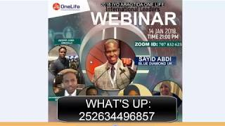 Lesson 01  Introduction OneCoin OneLife Somali