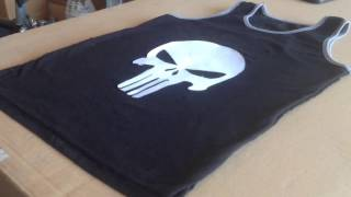 How To Make A Punisher Skull Shirt