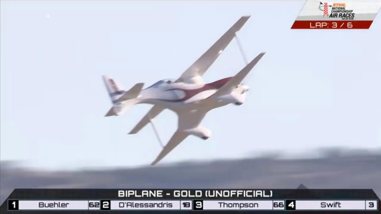 Biplane Race (Gold) 9-16-2018 - Reno Air Races 2018