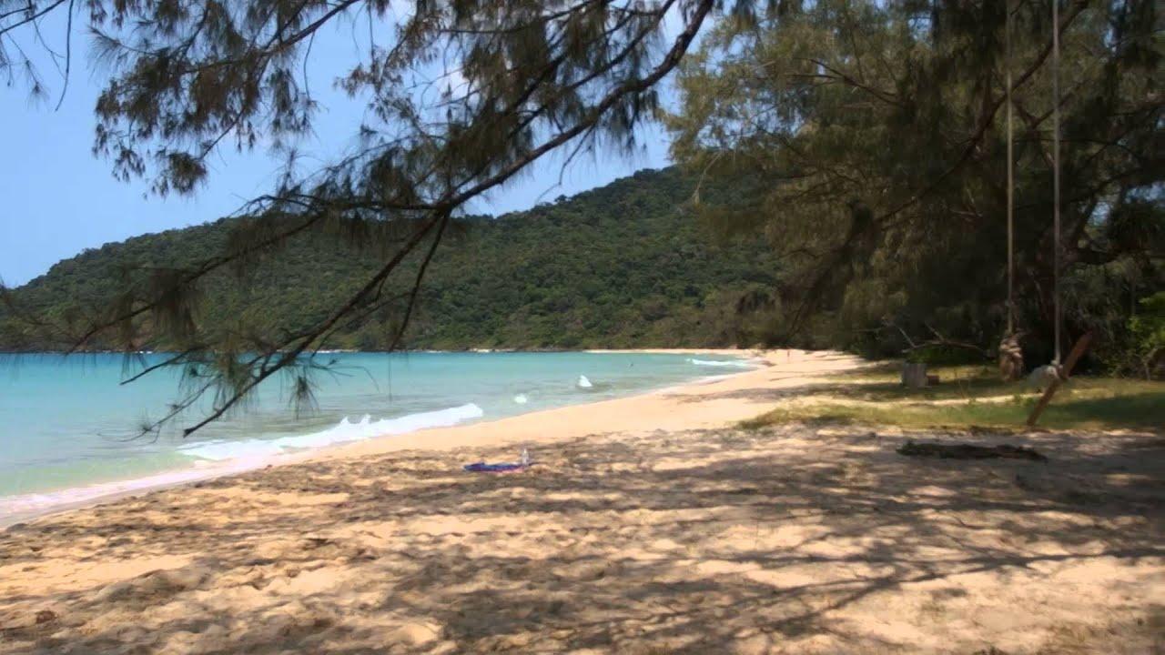 Lazy Beach On Koh Rong Samloem Cambodia