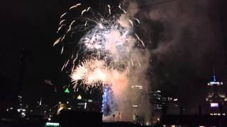 Fireworks at PNC Park, Pittsburgh PA 04/30/16
