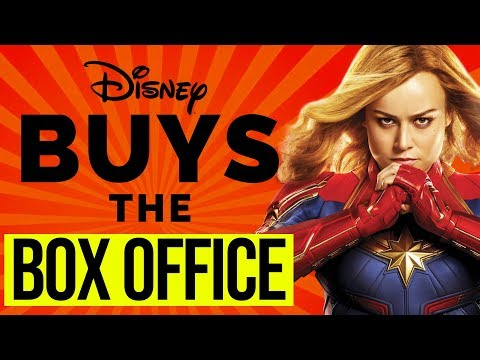 CAPTAIN MARVEL - DISNEY BOUGHT TICKETS TO INFLATE THE BOX OFFICE ???
