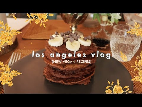L.A. Vlog • Trying New Vegan Recipes!