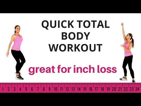 HOME FITNESS TOTAL BODY WORKOUT - MELT OFF INCHES & TONE UP ALL OVER - QUICK WORKOUT START NOW