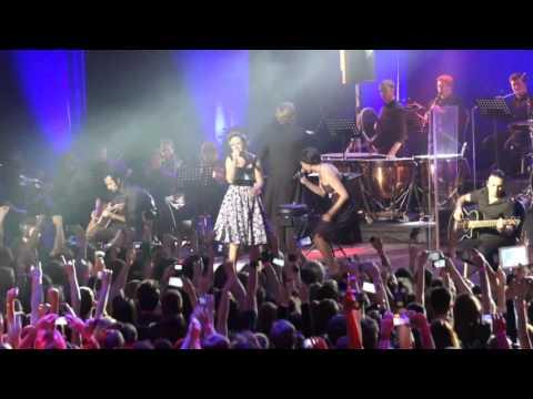 Louna с симфоническим оркестром - Во мне (с Хелависой) 19.11.2015 Крокус Сити Холл