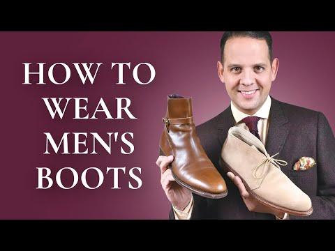 How To Wear Men's Boots 101 - 5 Best Boot Styles: Chukka, Chelsea, Jodhpur, Balmoral & Winter Boots