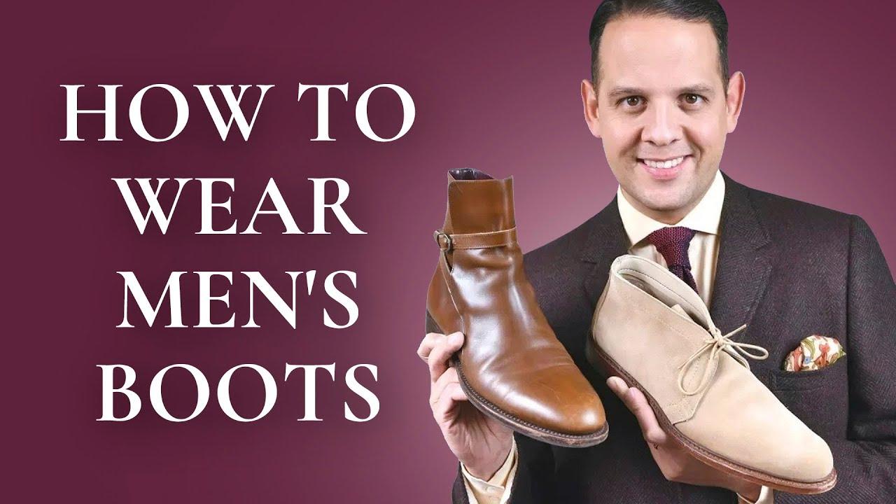 How To Wear Men S Boots 101 5 Best Boot Styles Chukka Chelsea Jodhpur Balmoral Winter Boots