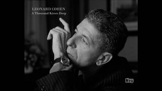 leonard cohen a thousand kisses deep