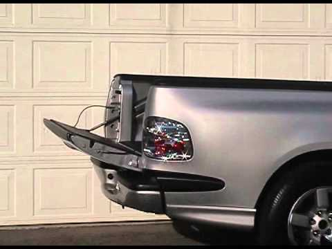 33 ford svt lightning jsc droptail power tailgate assist for pickup truck liftgate youtube. Black Bedroom Furniture Sets. Home Design Ideas