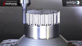 Impellerbearbeitung mit SolidCAM