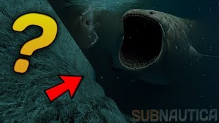 SCARY NOISES COMING FROM THE VOID... A MASSIVE CREATURE? - Subnautica Theory