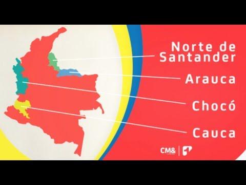 EE.UU. recomienda no viajar a cuatro departamentos de Colombia
