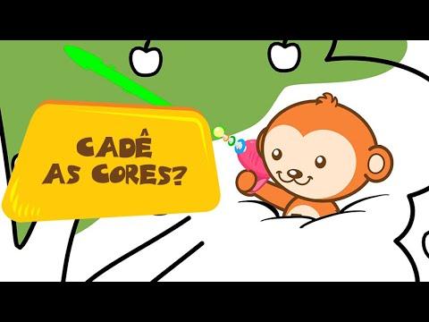 Cade As Cores Clipe Musical Infantil Educativo Animazoo Youtube