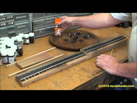 Build a 3 Rail O Scale Roller Stand quick and cheap