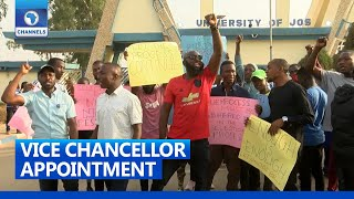 UNIJOS Staff \u0026 Students' Union Protest Interference