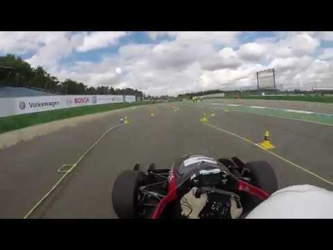 High Speed Karlsruhe - Formula Student Germany 2017 - fastest Endurance lap