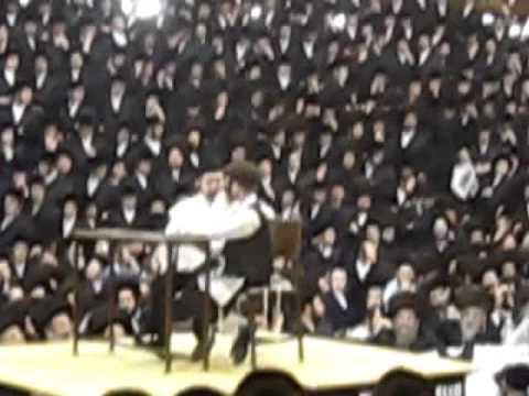 Satmar Shishen Purim Tish in Williamsburg - 5772 - Skit 3/4