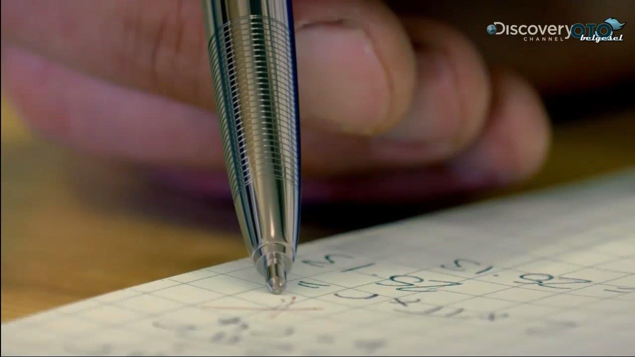 Tükenmez Kalem Nasıl Silinir