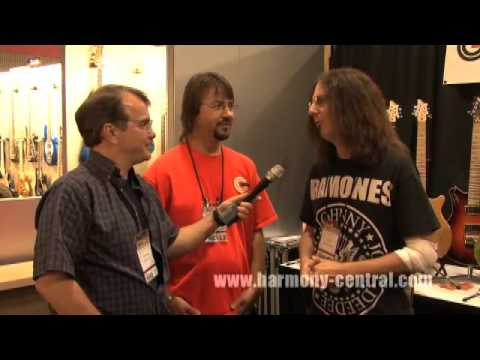 Guilford Guitars at Summer NAMM 2009 with Ty Tabor