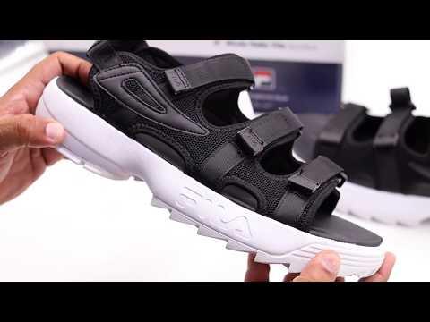 fila-disruptor-sandal---bk-(unboxing)