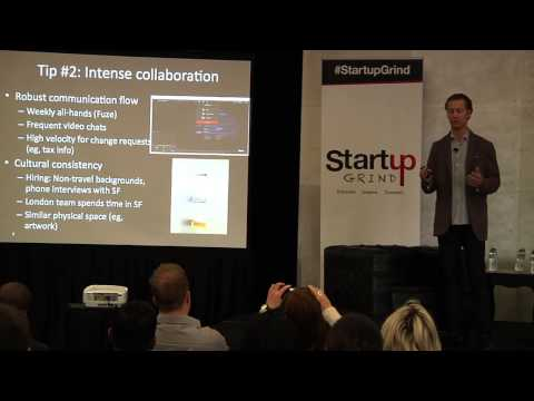 Sam Shank (HotelTonight) at Startup Grind 2013