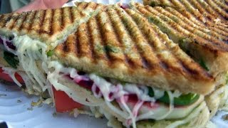 Cheez Masala Grill Sandwich  by baalu