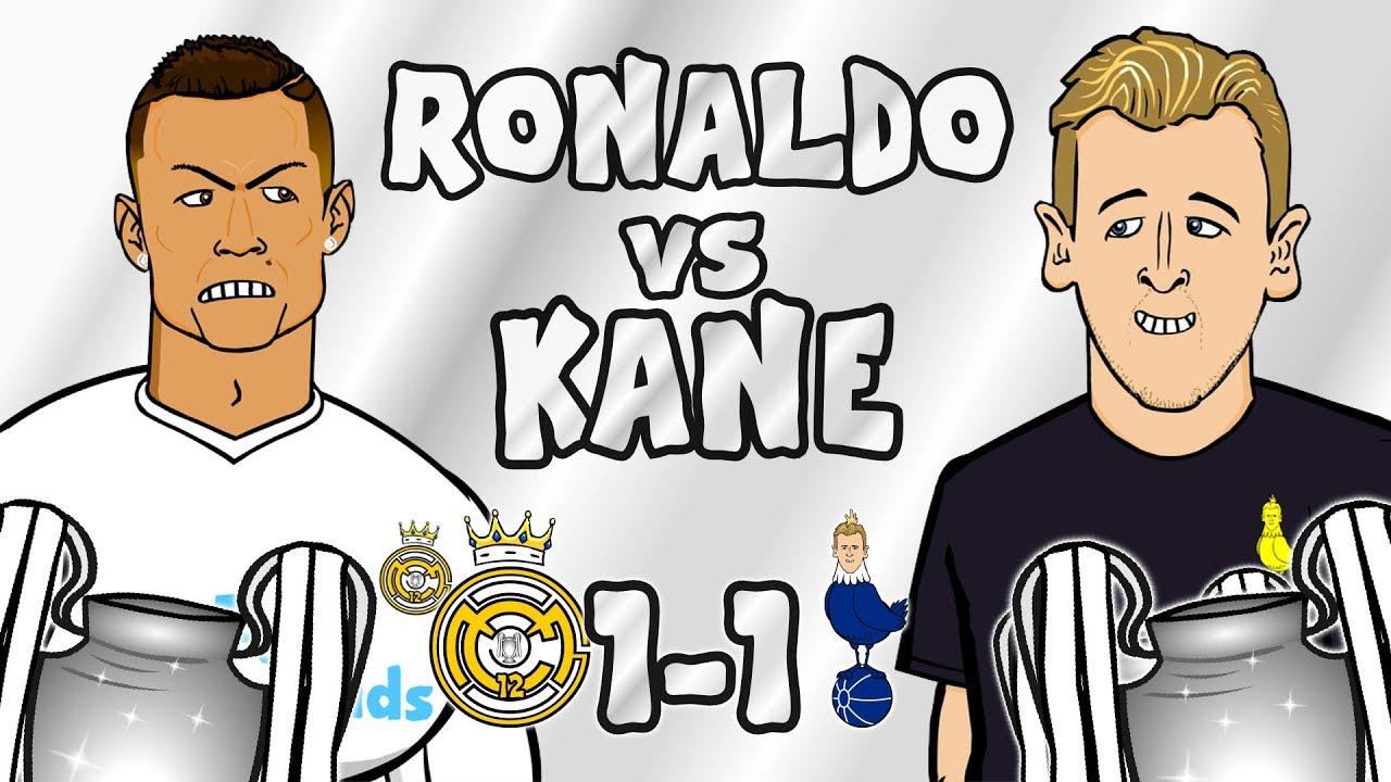 ronaldo-vs-kane-real-madrid-vs-tottenham-1-1-champions-league-parody-2017