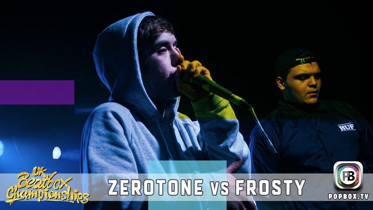 Zerotone vs Frosty   Solo Quarter Final   2017 UK Beatbox Championships