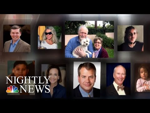 Desperate Search For Mudslide Survivors | NBC Nightly News